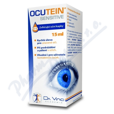Ocutein Sensitive oční kapky DaVinci 15ml