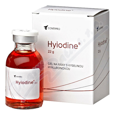 Hyiodine gel 1x22ml