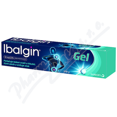 Ibalgin 50mg/g gel 100g