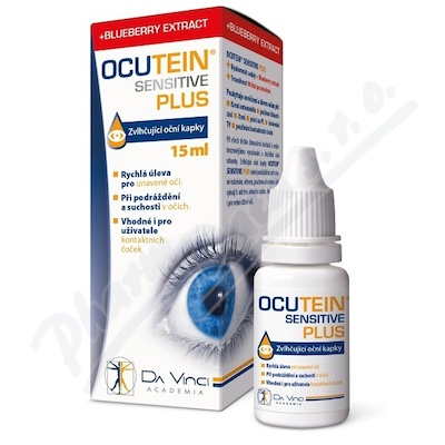 Ocutein SENSITIVE PLUS oční kapky 15ml DaVinci