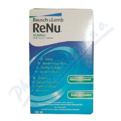 Bausch&Lomb ReNu MultiPlus Multi-Purpose Sol.120ml